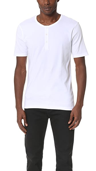 Armoire Officielle Teis Short Sleeve Henley