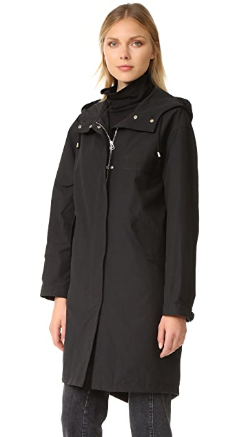Army By Yves Salomon Fishtail Parka with Fur
