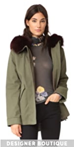 Army By Yves Salomon Parka with Fur Lining