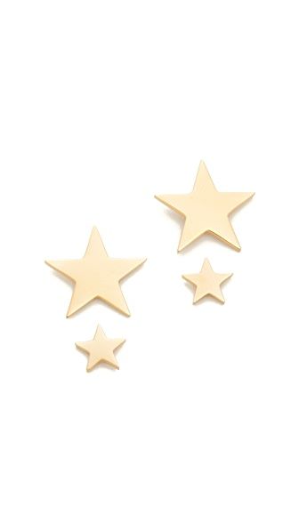 Amber Sceats Star Earrings