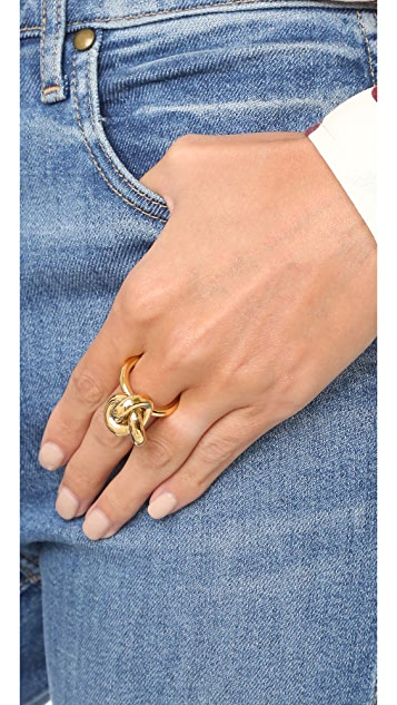 Amber Sceats Big Knot Ring