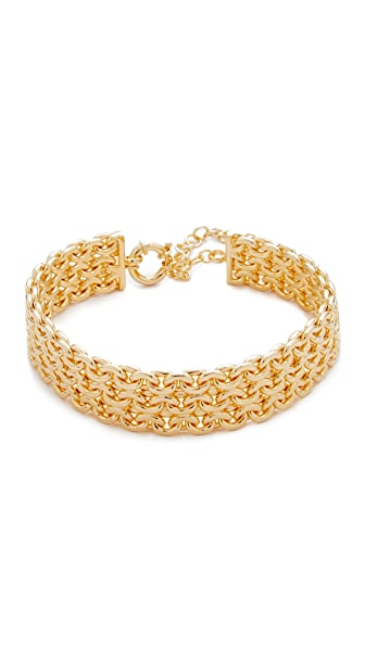 Amber Sceats Amy Choker - Gold