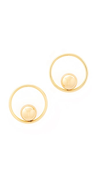 Amber Sceats Oliver Earrings - Gold
