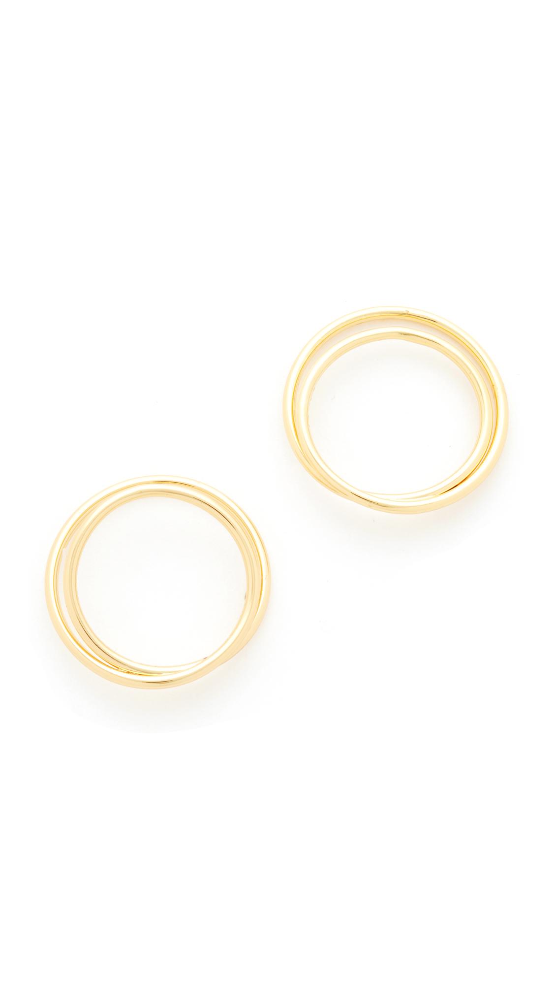 Amber Sceats Zajak Earrings - Gold