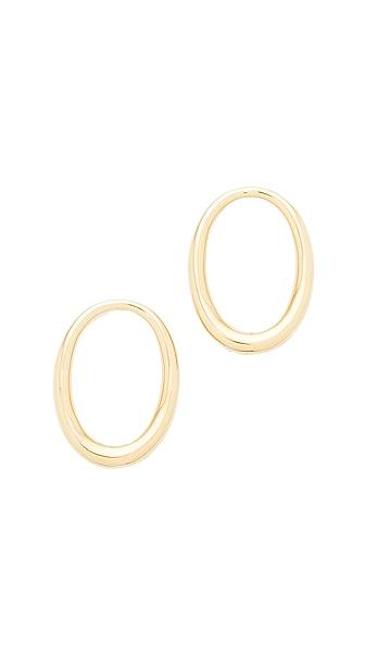 Amber Sceats Grande Jude Earrings - Gold