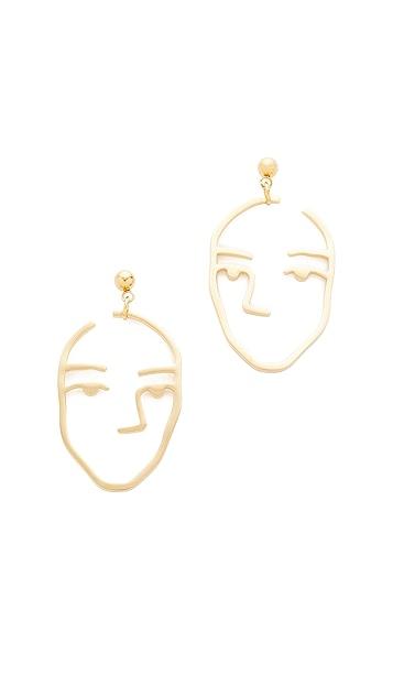 Amber Sceats Amber Earrings