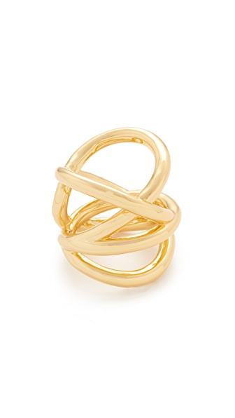 Amber Sceats Tyler Ring - Gold