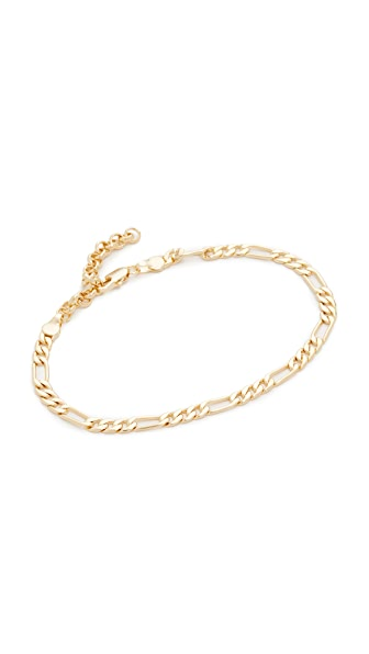 Amber Sceats Evan Anklet - Gold