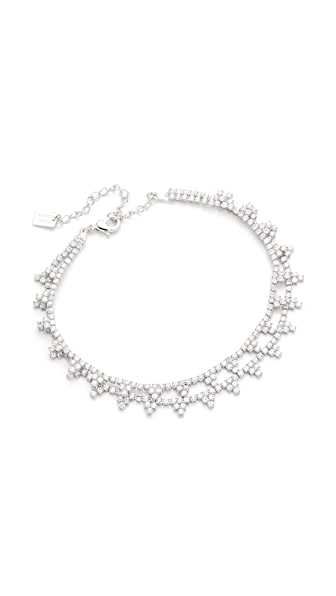 Amber Sceats Angie Anklet - Silver