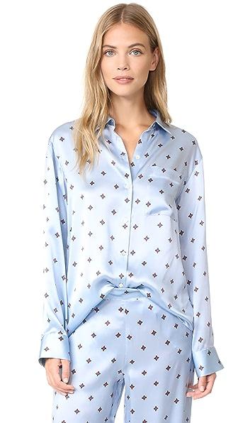 ASCENO Pyjama Top - Sky Star