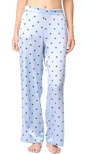 ASCENO Pyjama Bottoms In Sky Star