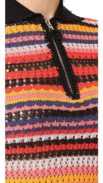 Adam Selman Crochet Polo