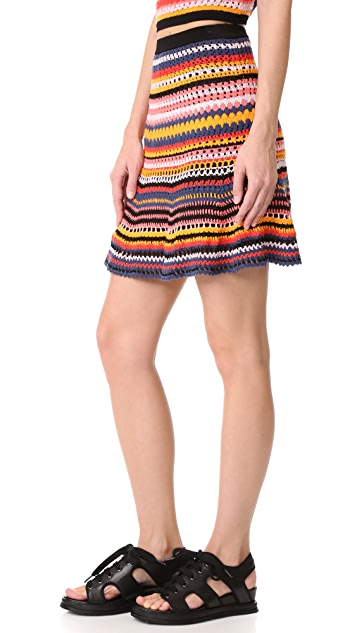 Adam Selman Flirty Skirt