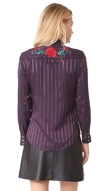 Adam Selman Cowgirl Shirt