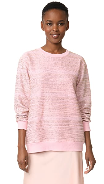 ASHISH Beaded Sweatshirt - Pink/Gold