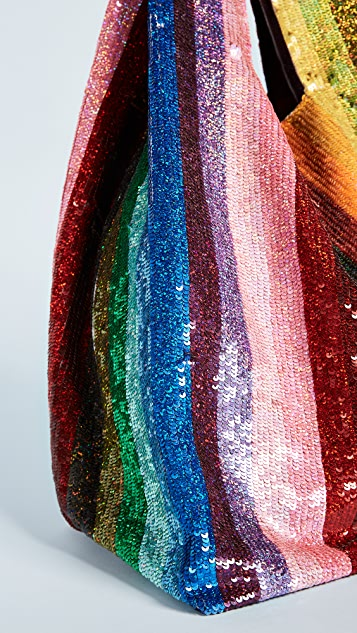 ASHISH Sequin Grocery Bag