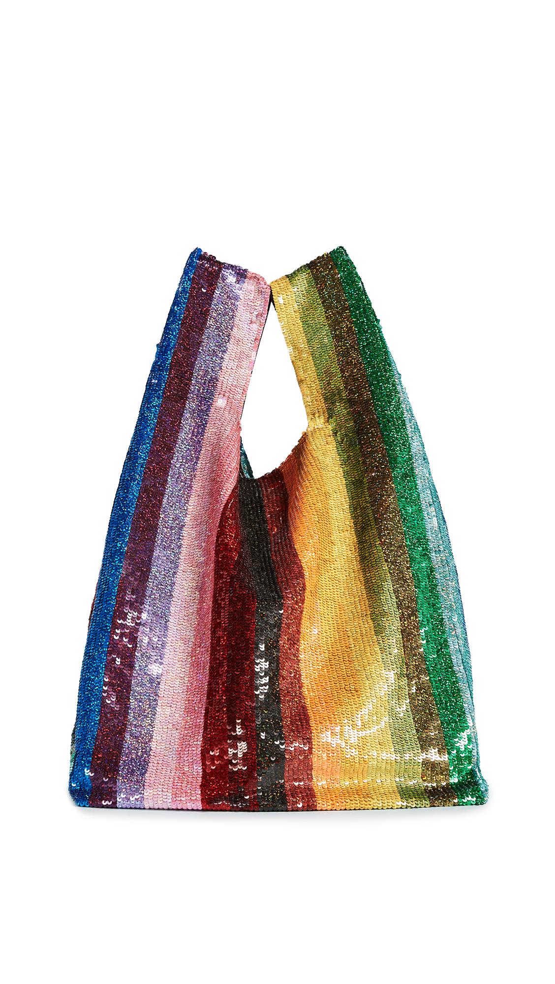 ASHISH Sequin Grocery Bag