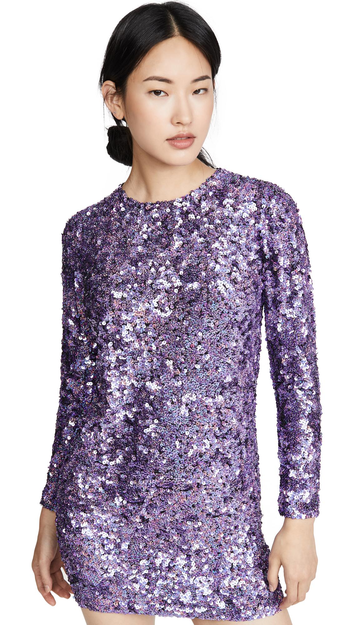 Buy ASHISH online - photo of ASHISH Sequin Long Sleeve Dress