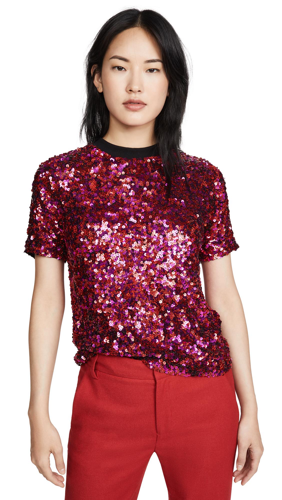 Buy ASHISH online - photo of ASHISH Sequin T-Shirt