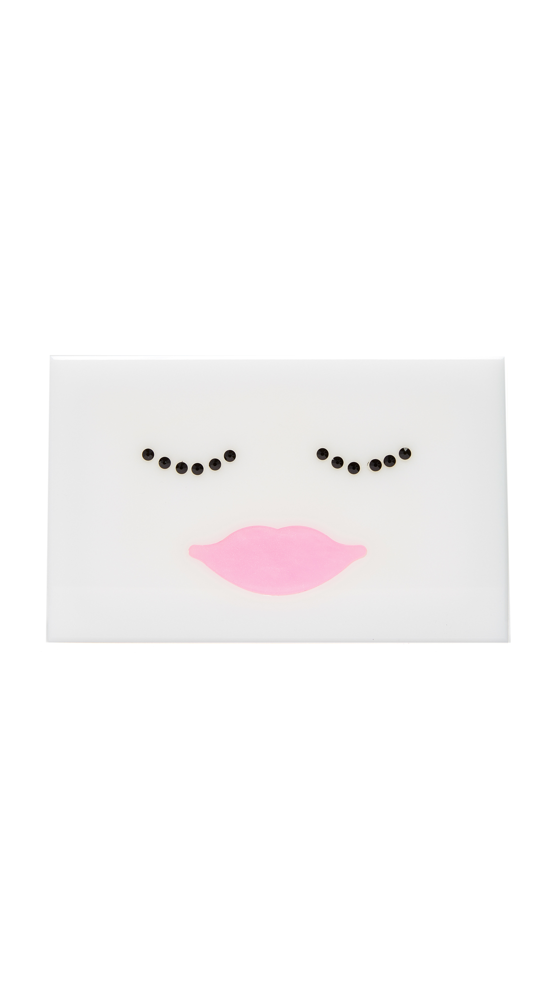 ashlynd Sally Clutch - White