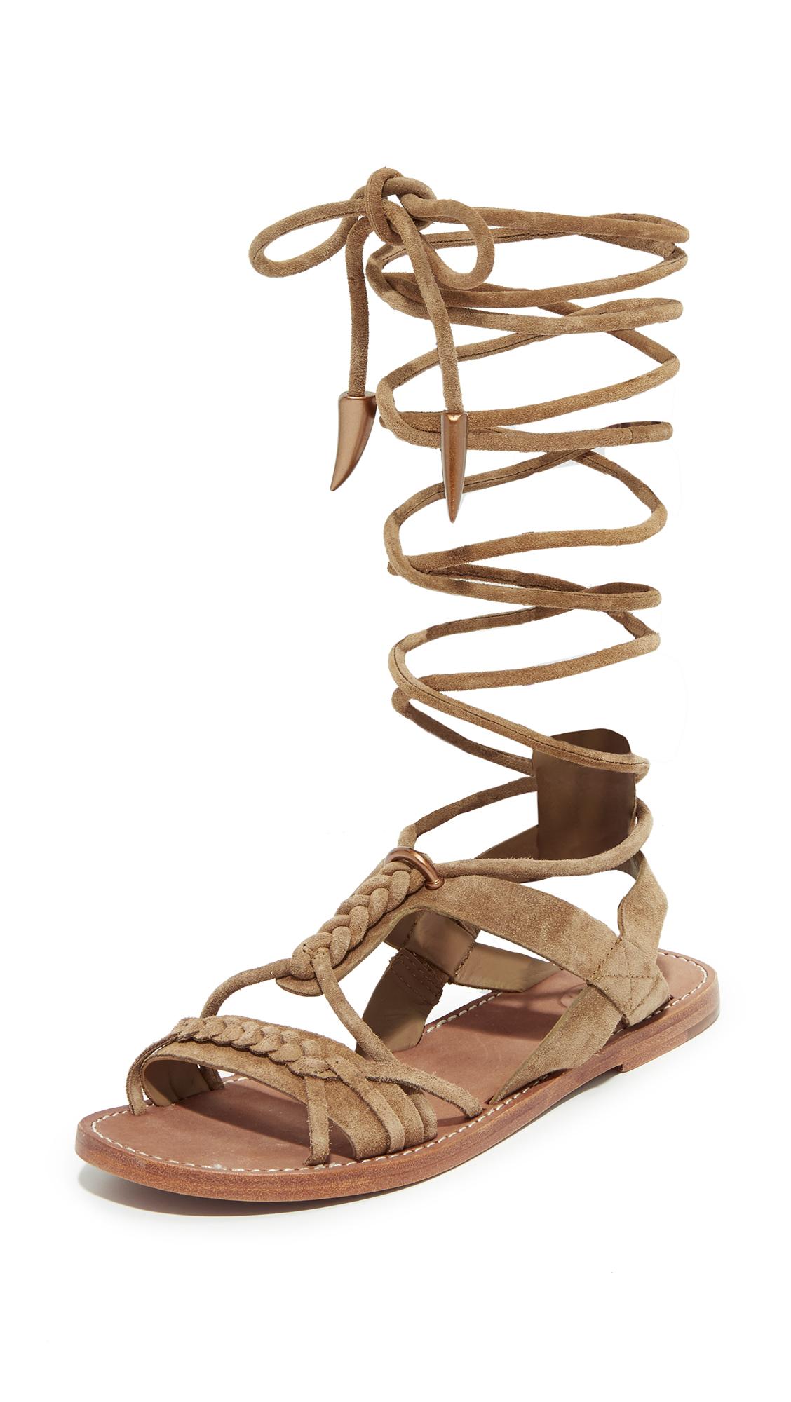 b6622730c9ab Ash Peace Wrap Sandals
