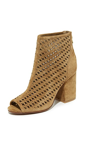 Ash Flash Perforated Open Toe Booties - Wilde at Shopbop