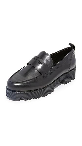 Ash Nani Platform Loafers - Black at Shopbop