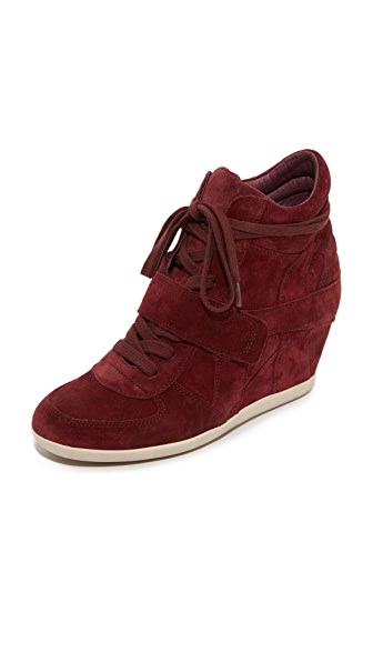 Ash Bowie Wedge Sneakers - Barolo at Shopbop