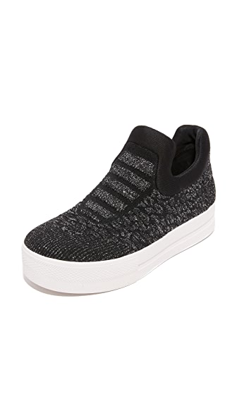 Ash Jaguar Slip On Sneakers - Black/Piombo/Black at Shopbop