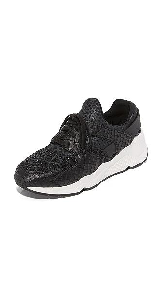 Ash Mood Sneakers - Black/Gun/Abate at Shopbop