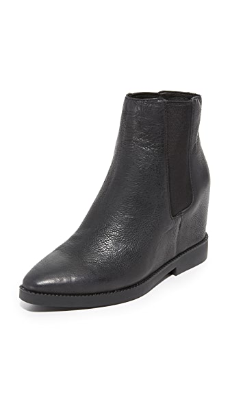 Ash Gong Wedge Booties - Black at Shopbop
