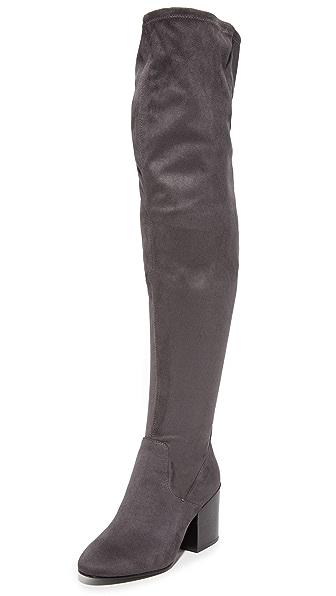 Ash Elisa Thigh High Boots - Bistro at Shopbop