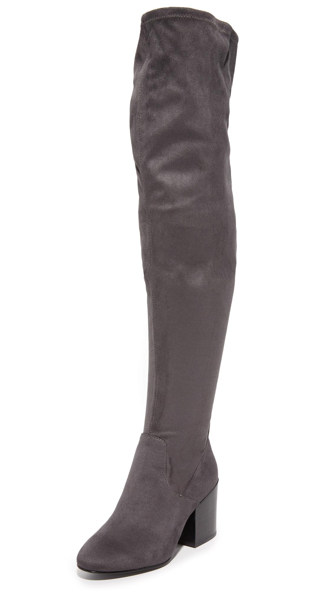 Ash Elisa Thigh High Boots - Bistro