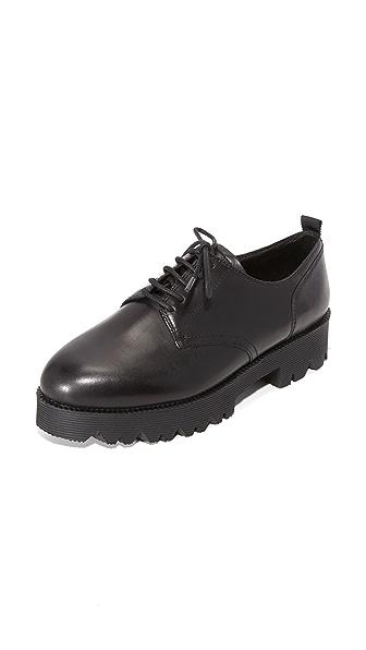Ash Nox Platform Oxfords - Black at Shopbop