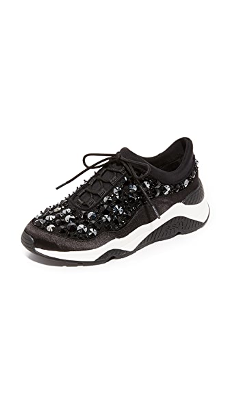 Ash Muse Beads Sneakers - Black