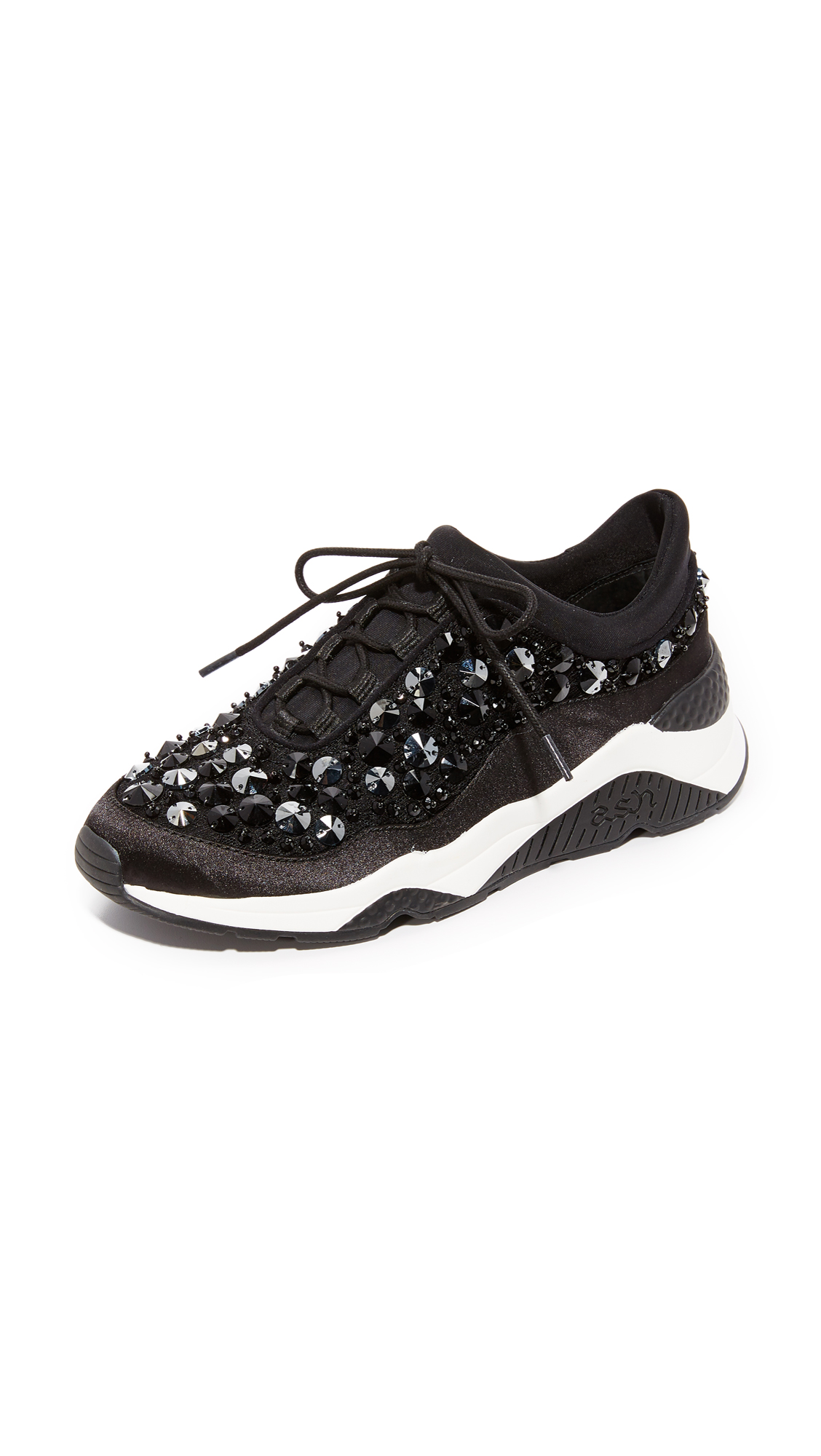 Ash Muse Beads Sneakers - Black at Shopbop
