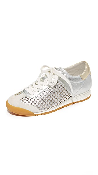 Ash Spin Sneakers - Off White/Silver