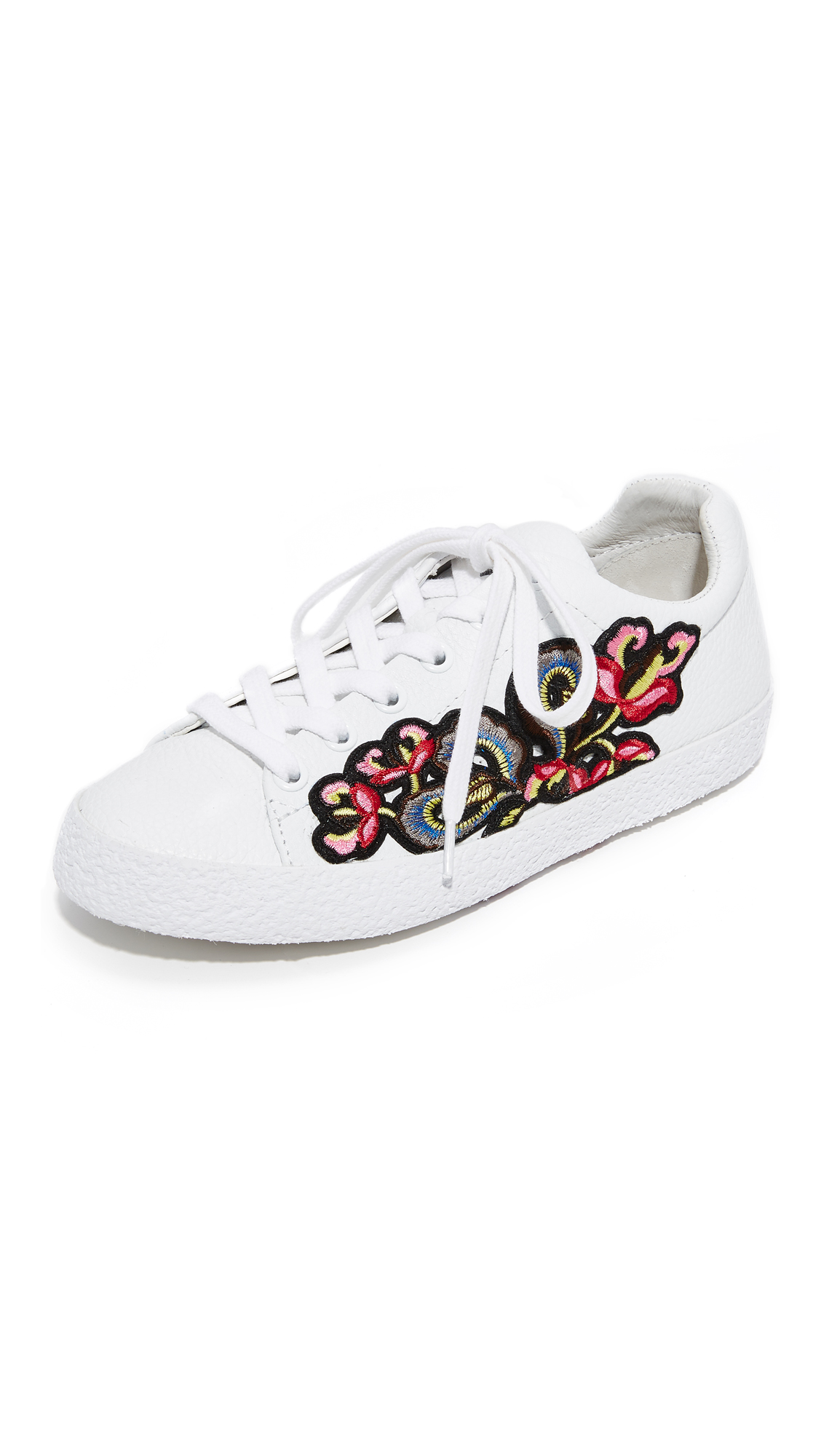 Ash Nak Bis Sneakers - White/Red at Shopbop