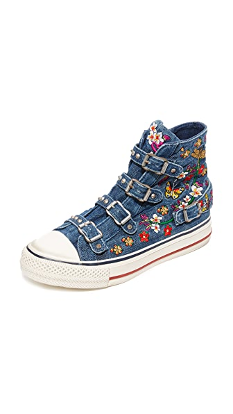 Ash Virtu Buckle High Top Sneakers