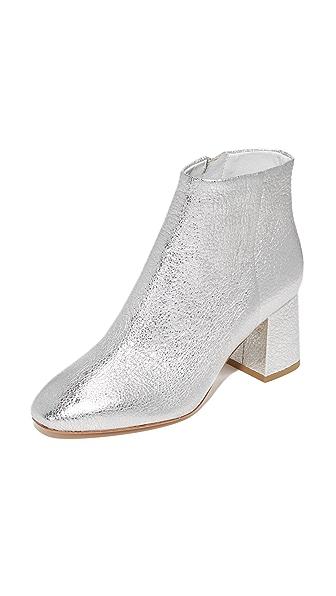 Ash Heroine Booties - Silver