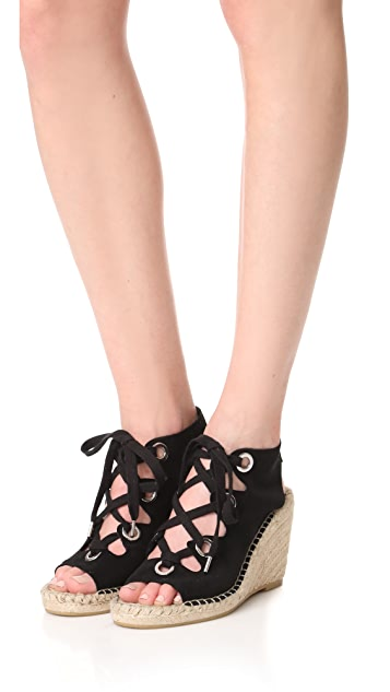 Ash Patty Lace Up Wedges