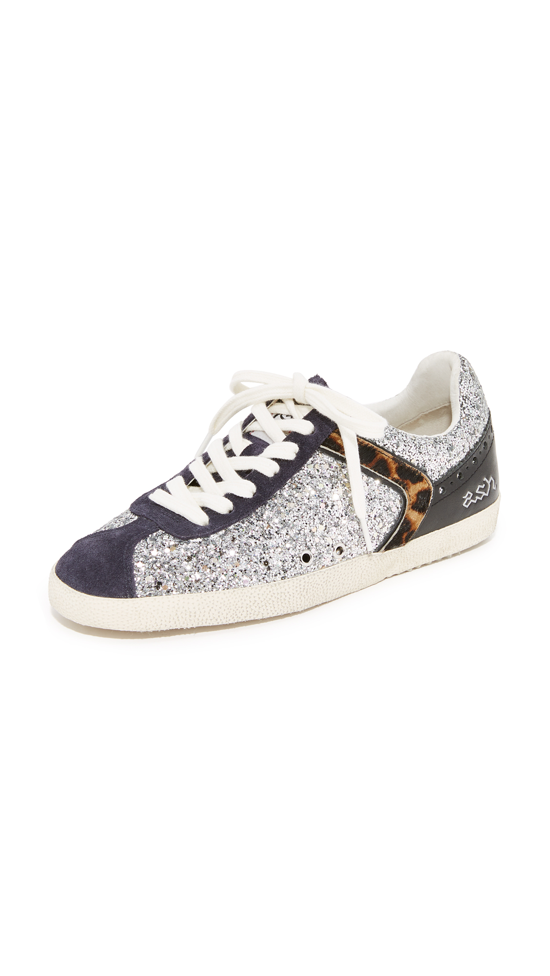 Ash Glitter Sneakers - Galaxy/Everest/Silver