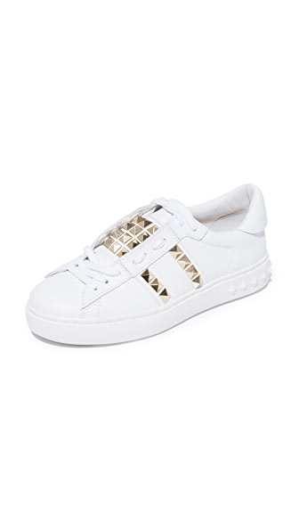 Ash Party Studded Sneakers - White