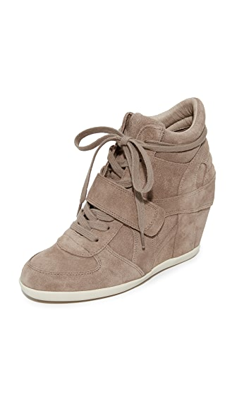 Ash Bowie Sneaker Wedges - Cocco