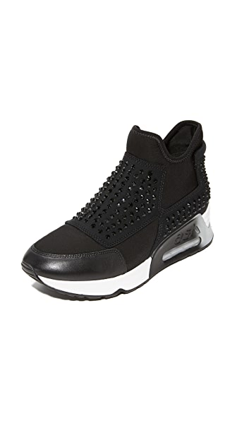 Ash Laser Stone Sneakers In Black