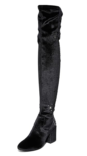 Ash Eros Over the Knee Boots