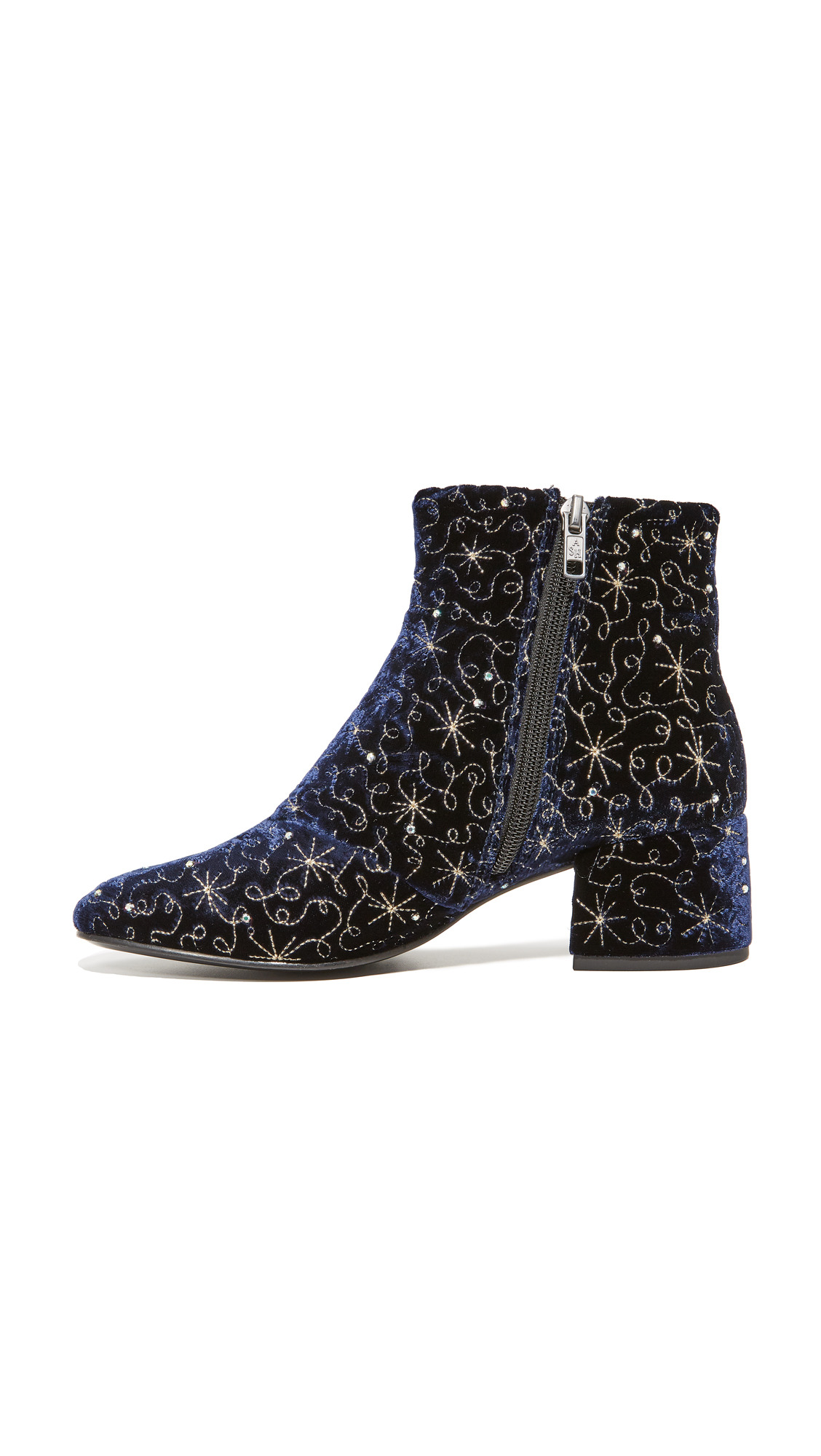 938815672dc9d Ash Diamond Bis Embroidered Booties