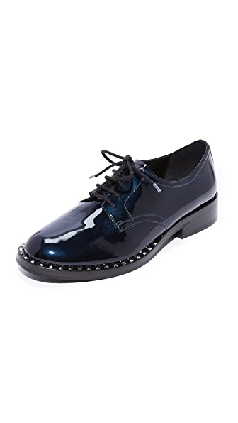 Ash Wilco Studded Oxfords - Midnight