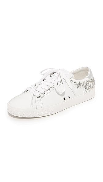 Ash Dazed Sneakers - White/Silver