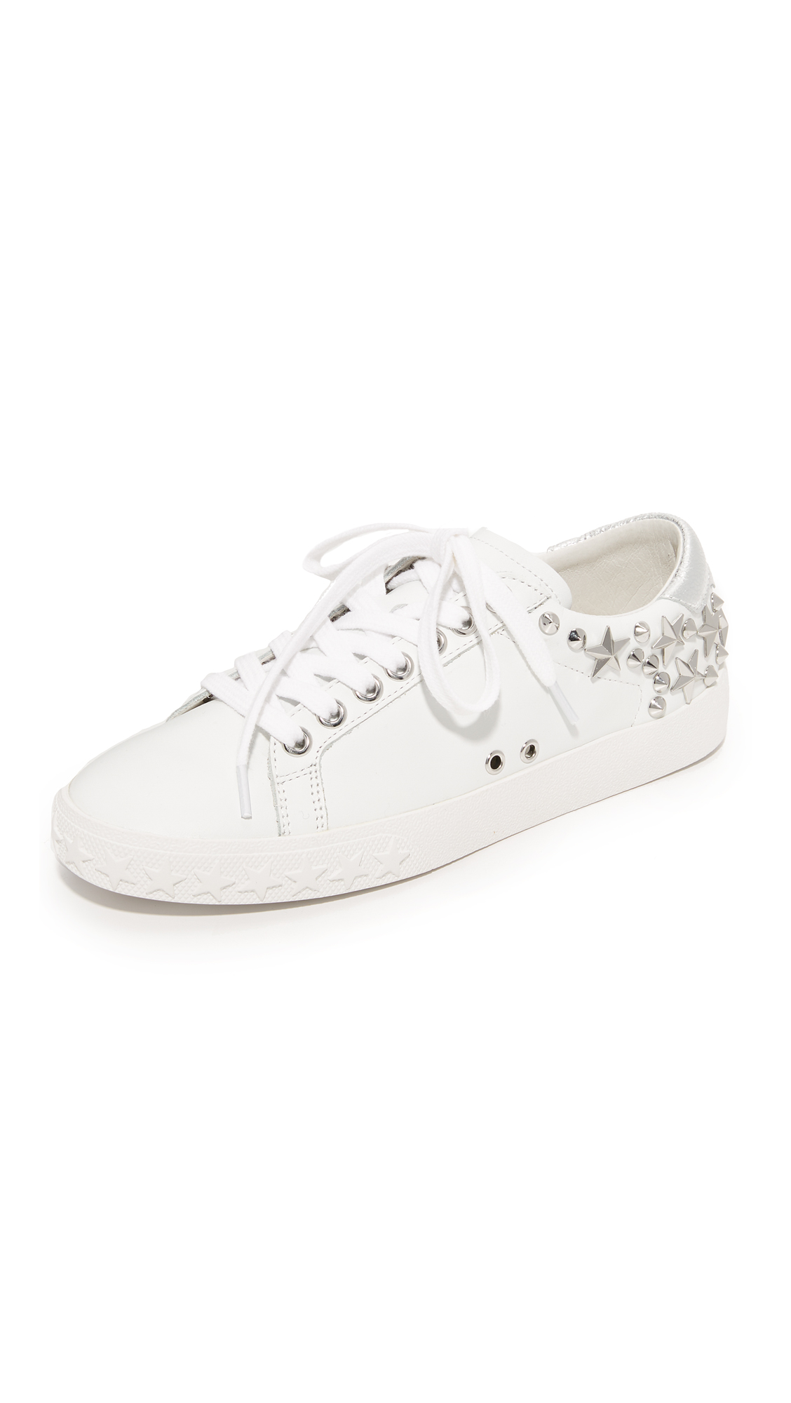 Ash Dazed Sneakers - White/Silver